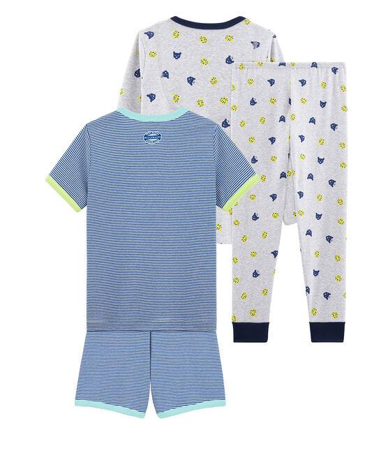 Duo pigiama corto e pigiama bambino lotto .