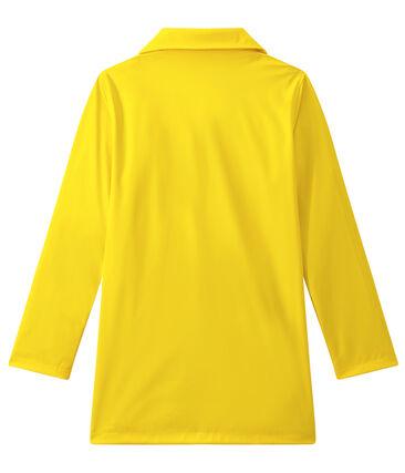 Cerata donna impermeabile stile cappotto giallo Jaune