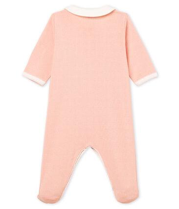 Tutina pigiama bambina a costine