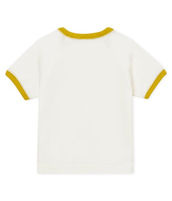 T-shirt mc bebè maschietto fantasia bianco Marshmallow