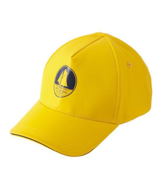 Berretto con visiera unisex giallo Jaune