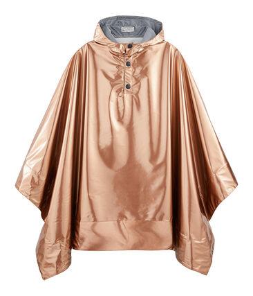 Mantellina da pioggia reversibile donna rosa Copper