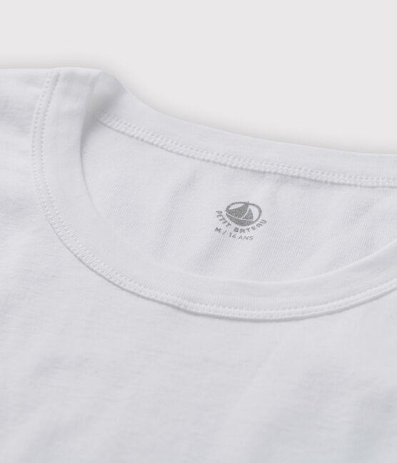 T-shirt maniche corte Uomo bianco Ecume