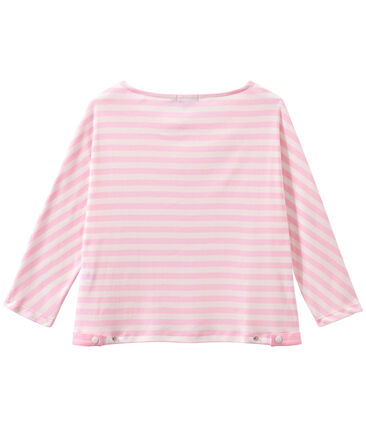 T-shirt donna maniche a 3/4 a righe