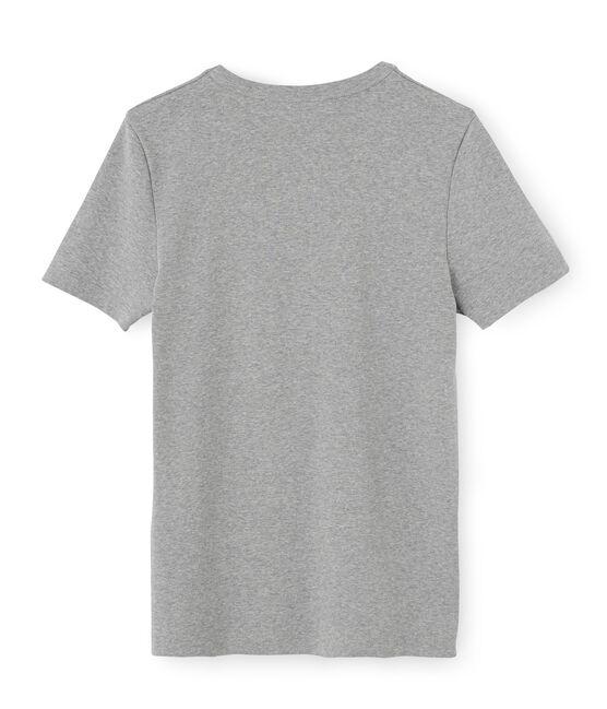 T-shirt manica corta iconica uomo grigio Subway