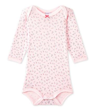 Body per bebé femmina a maniche lunghe stampato