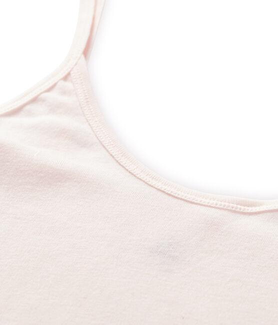 Canottiera con spalline donna in cotone leggero FLEUR
