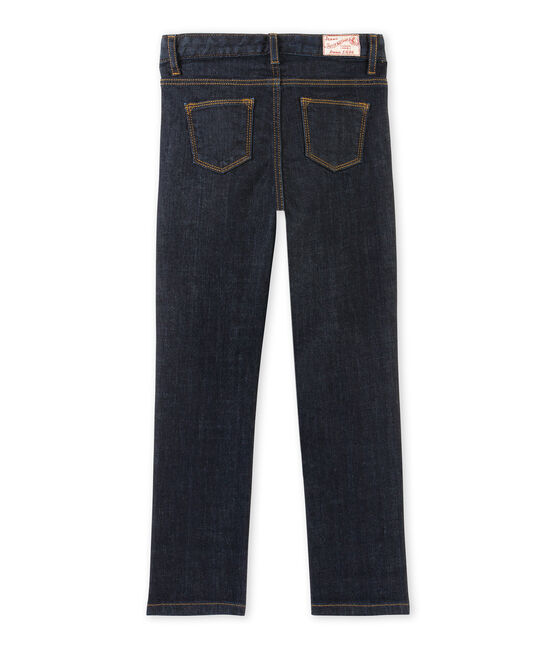 Jean slim stretch enfant fille blu Jean