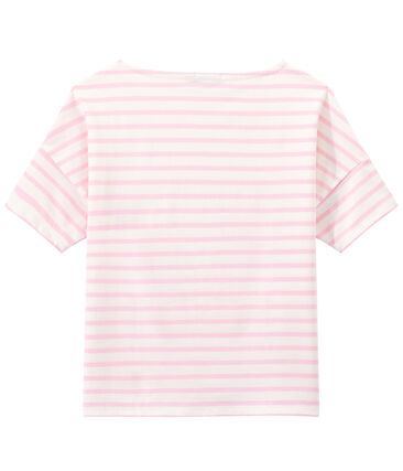 Marinière donna a maniche corte in jersey