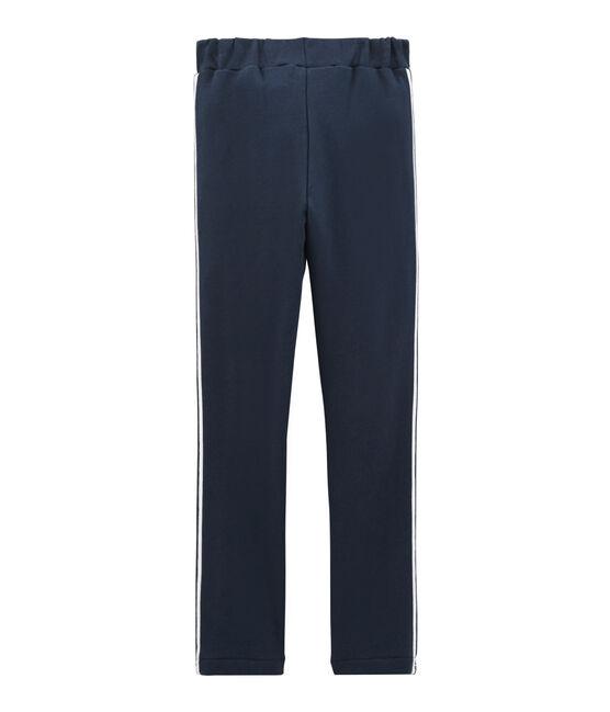 Pantalone bambina blu Haddock