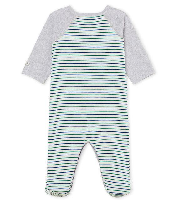 Tutina pigiama bambino a costine bianco Marshmallow / bianco Multico