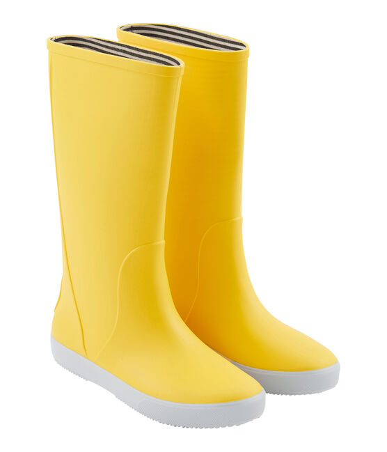 Stivali da pioggia giallo Jaune