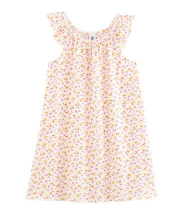 Camicia da notte bambina in cotone sottile