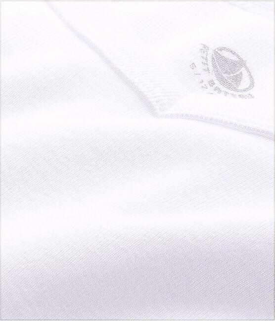 T-shirt maniche corte scollo a V Uomo bianco Ecume