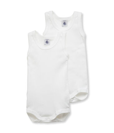 Duo body senza maniche bebè maschio lotto .