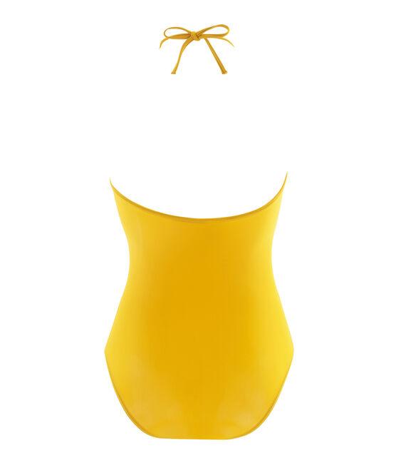 Costume intero donna giallo Bamboo