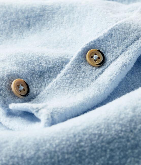 Completo due pezzi bebè in cotone, lana merino e poliestere TOUDOU