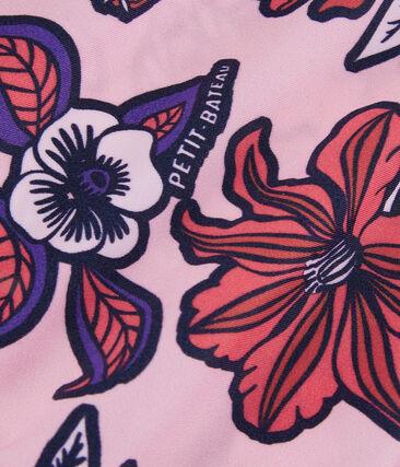 Costume intero ecoresponsabile rosa Patience / bianco Multico