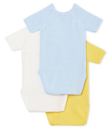 Trio body nascita manica corta bebè maschietto