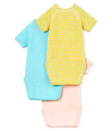 Trio body nascita manica corta bebè bambina