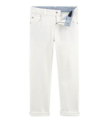 Pantalone bambino bianco Marshmallow