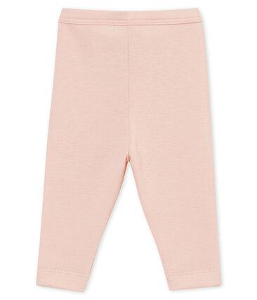 Leggings per bebé maschio rosa Joli