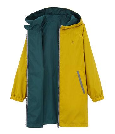Giacchetta reversibile bambino unisex giallo Bamboo / verde Pinede