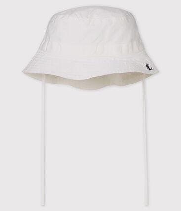 Cappello da pescatore bebè unisex bianco Marshmallow