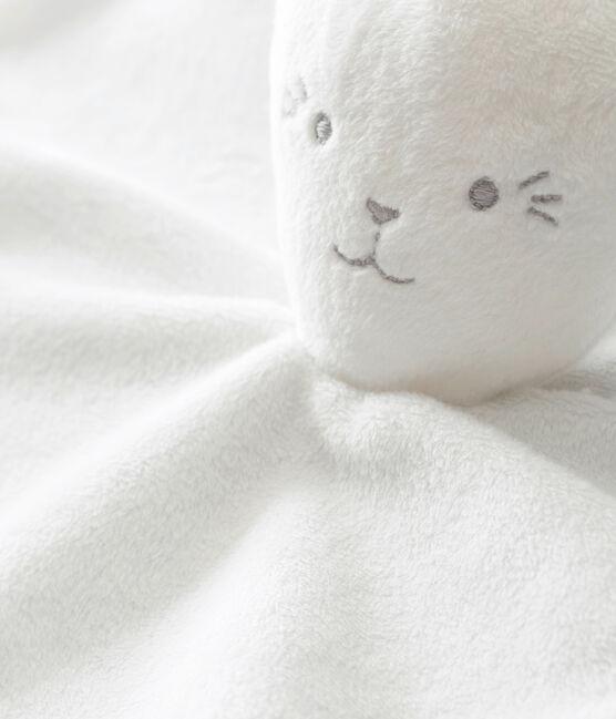 Doudou coniglietto millerighe bianco Marshmallow