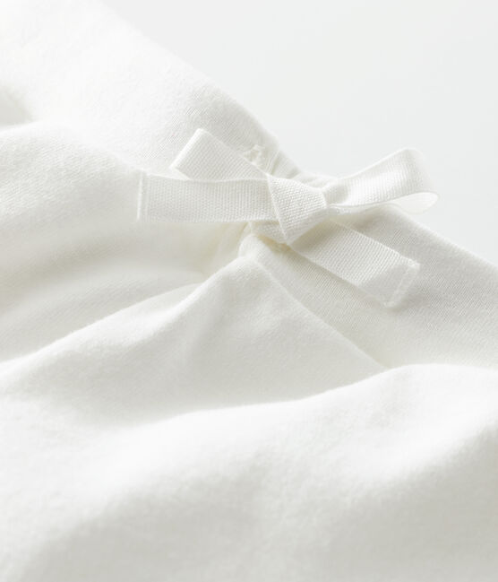 Short bambina bianco Marshmallow