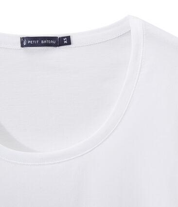 T -shirt donna con SCOLLO BALLERINA in jersey leggero
