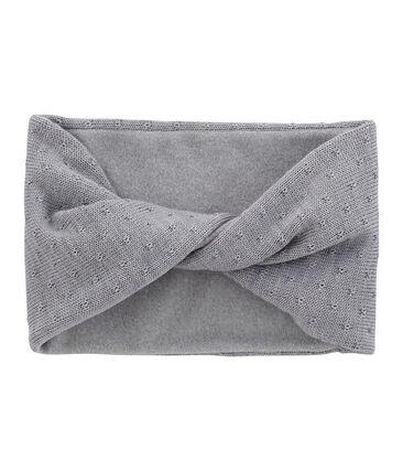Copricollo misto lana per bambina