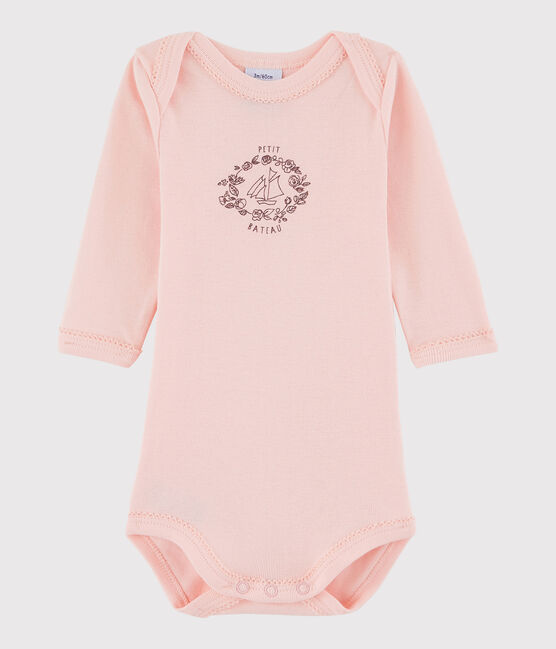 Body manica lunga bebè femmina rosa Venus