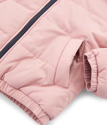 Piumino bambino unisex rosa Charme