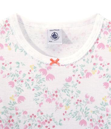 Camicia da notte bambina maniche lunghe stampata