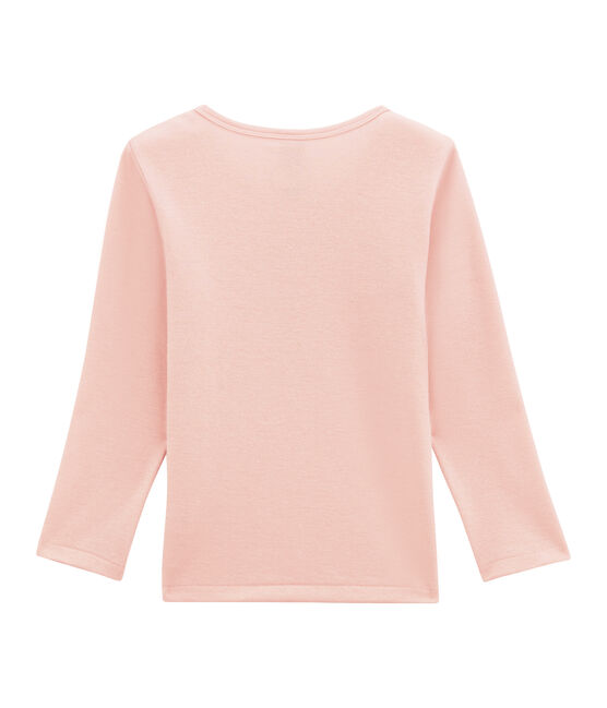 tee-shirta maniche lunghe per bambina in lana e cotone JOLI