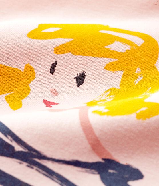 T-shirt a maniche corte bambina MINOIS