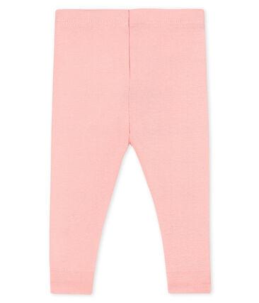 Leggings bebè femmina rosa Charme