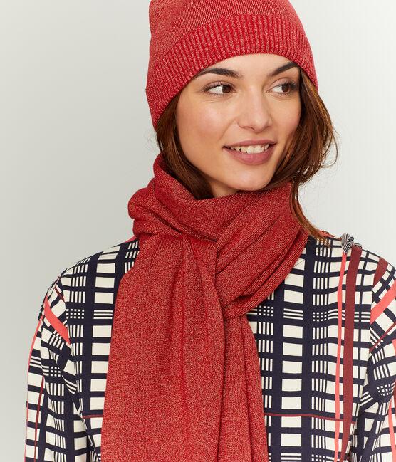 Cuffia brillante donna rosso Terkuit / rosso Terkuit Brillant