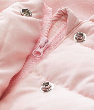 Piumino in microfibra per bebé femmina