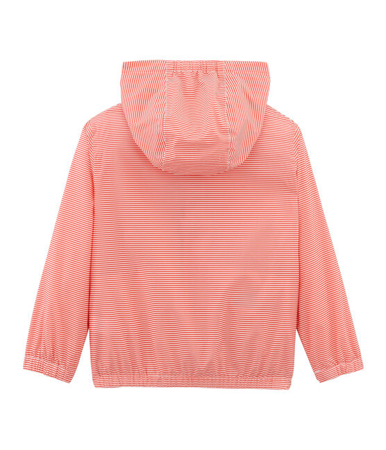Giacchetta bambino unisex rosa Petal / blu Crystal