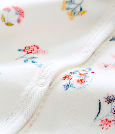 Tutina per bebé femmina bianco Marshmallow / bianco Multico