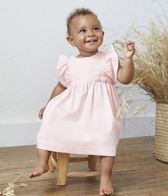 Abito e bloomer bebè femmina in raso MINOIS