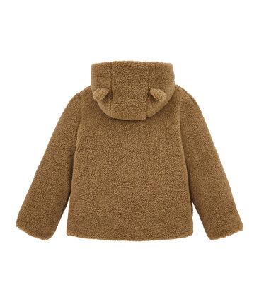Cappotto per bambina in sherpa