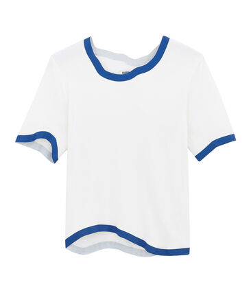T-shirt bianco Marshmallow