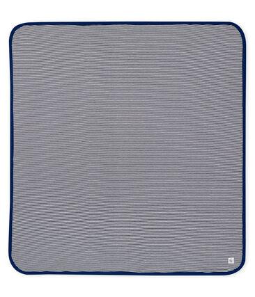 Copertina anti-onde elettromagnetiche blu Smoking / bianco Ecume
