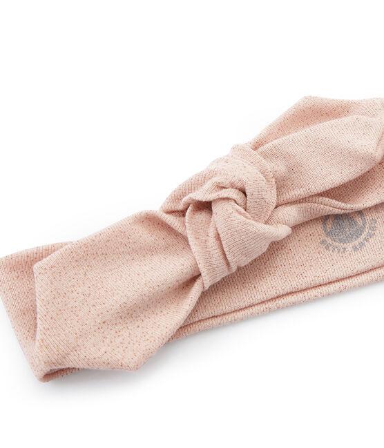 Fascia bambina blu Bocal / rosa Copper