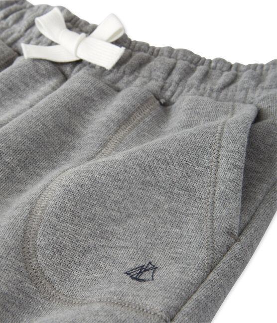 Pantaloni per bambino in molleton grigio Subway Chine