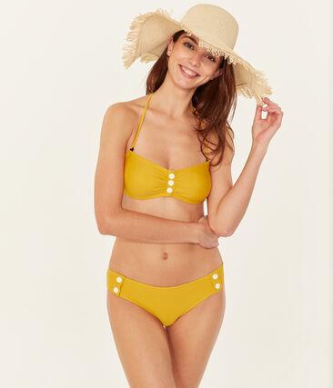 Costume due pezzi donna giallo Bamboo