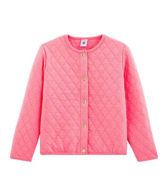 Cardigan bambina rosa Cupcake
